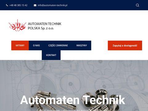 Tokarka CNC - Automaten Technik
