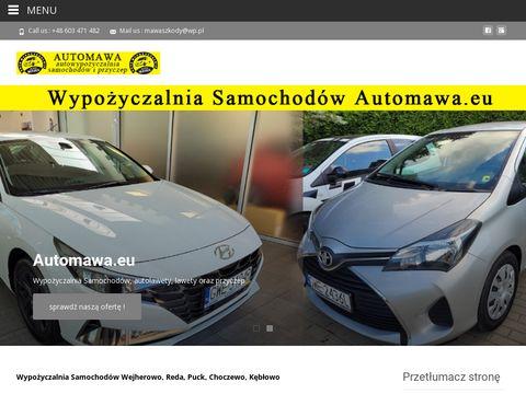 Wypo偶yczalnia Samochod贸w Wejherowo - Wynajem Lawety