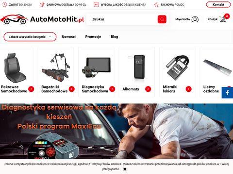 AutoMotoHit.pl - sklep motoryzacyjny: akcesoria i gad偶ety do samochodu