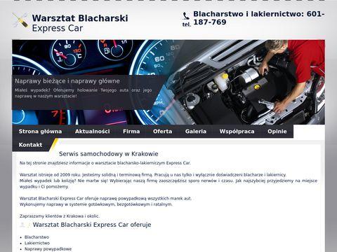 Warsztat Blacharski Express Car - Krak贸w