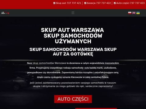 Auto skup samochodów Warszawa – skupujemy auta od 2002 do 2018r