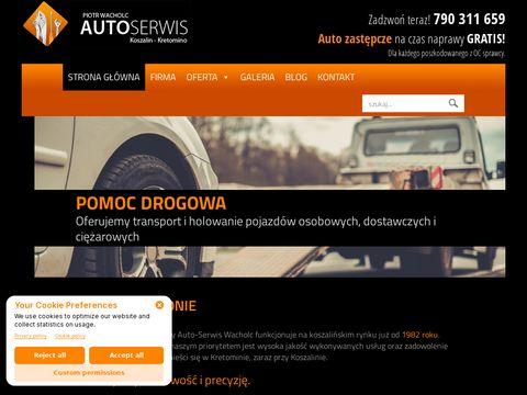 Autoserwis Piotr Wacholc - lakiernictwo Koszalin