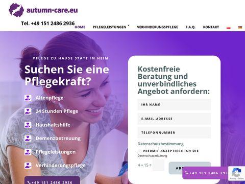 Autumn Care - agencja opieki nad osobami starszymi