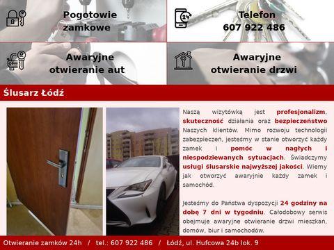 Awaryjne otwieranie zamk贸w drzwi - W艂amywacz 24 - 607 922 486