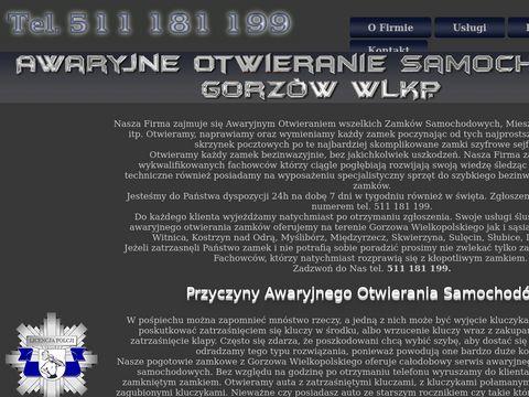 Awaryjne Otwieranie Zamków Gorzów Wielkopolski
