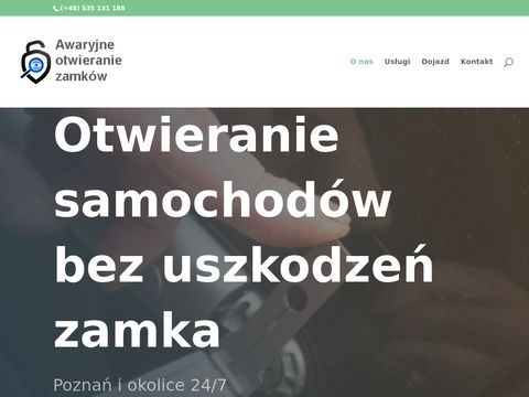Awaryjne otwieranie zamków i samochodów tel.575806222 Poznań