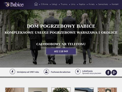 Dom pogrzebowy Warszawa - babice.com.pl