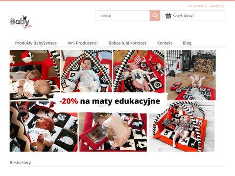 Sklep z zabawkami sensomotorycznymi dla dziecie - Baby Senses