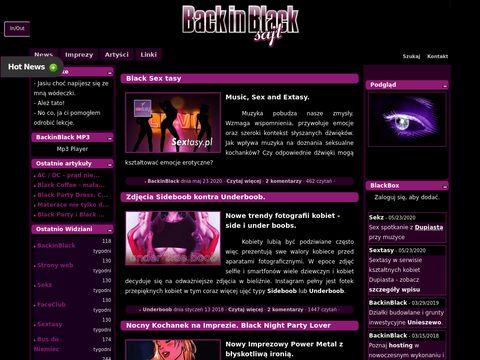 BlackinBlack Party Sajt - melanże i aranże.