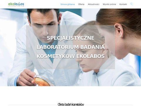 Ekolabos - Badanie kosmetyk贸w