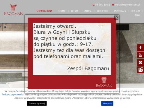 Bagomar.com.pl blaty granitowe gdańsk