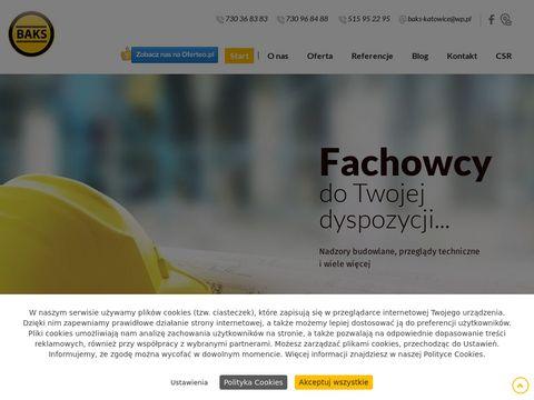 Www.bakskatowice.pl nadzór budowlany