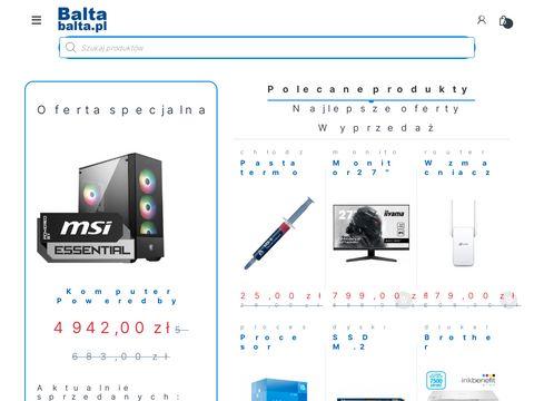 Balta.pl bateria do laptopa