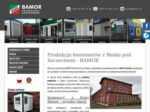 BAMOR kontenery biurowe Szczecin