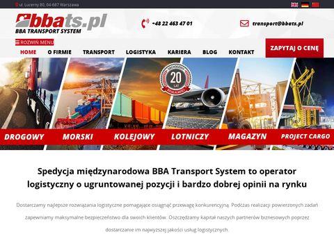 BBATS.pl | Transport, spedycja, doradztwo logistyczne