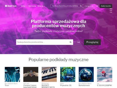 BeatHaze.com - platforma producent贸w muzycznych | Podk艂ady muzyczne