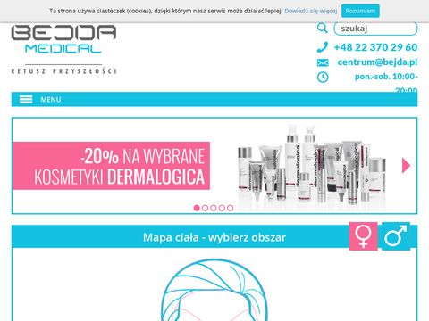 Medycyna estetyczna - Bejda Medical