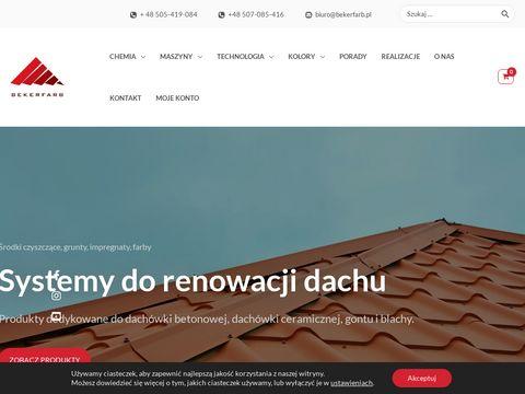 BekerFarb - Specjalistyczne farby dla budownictwa