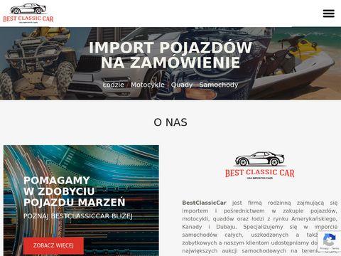 Import samochod贸w z USA