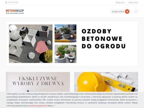 Elementy betonowe - betonsklep.pl