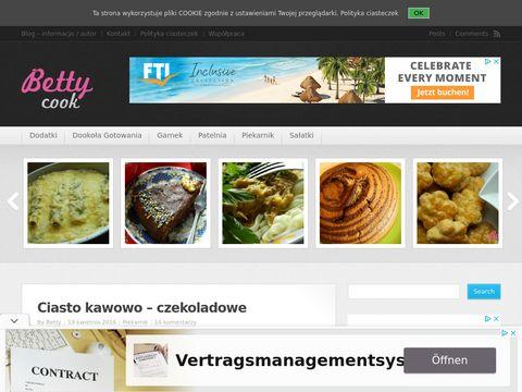 Bettycook.pl - blog kulinarny