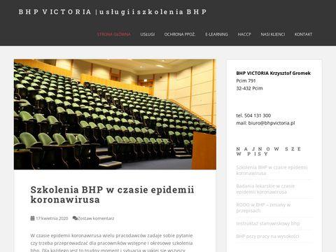 BHP VICTORIA | Szkolenie BHP | instrukcja bezpiecze艅stwa po偶arowego