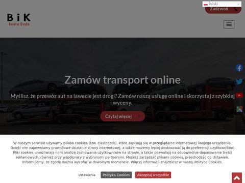 BIK-TRANSPORT transport samochodów używanych