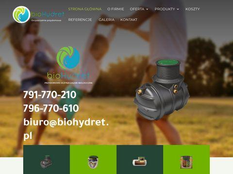 Www.biohydret.pl przydomowa oczyszczalnia