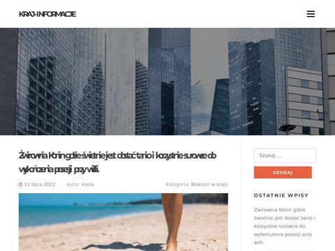 Zamrażarki niskotemperaturowe jako nowoczesna oferta firmy biozamrazalki.pl