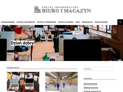 Biuroimagazyn.com - Biały papier do drukarki