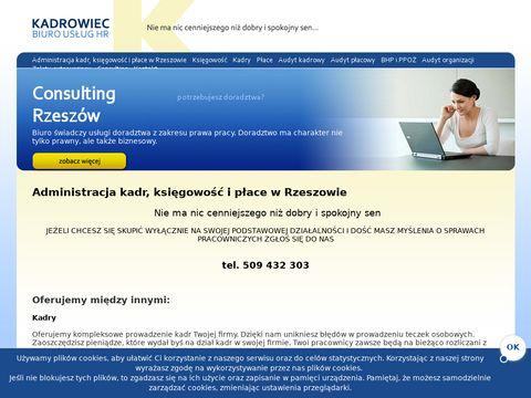 Rzesz贸w - Szkolenia BHP - Kadrowiec