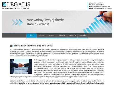 Usługi księgowe - biuro Legalis �ódź