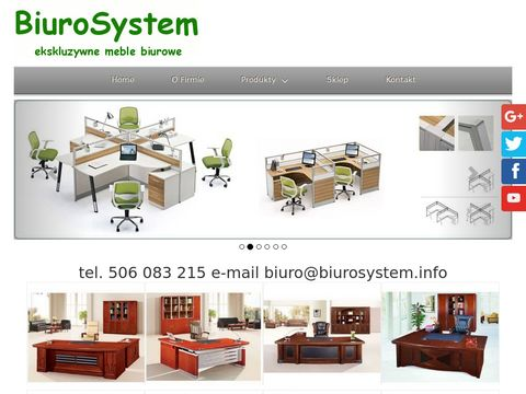 BIURO SYSTEM fotele biurowe Å›lÄ…skie