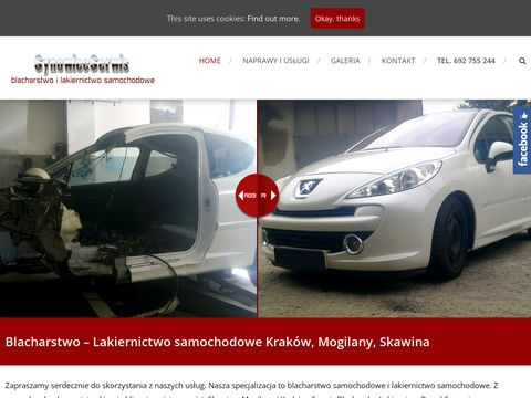 Blacharstwo Chorowice   Blacharstwo i Lakiernictwo Samochodowe - Krak贸w, Skawina, Mogilany
