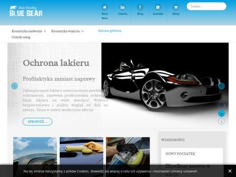 Sprzedaż pojazdów / Auto Detailing Blue Bear