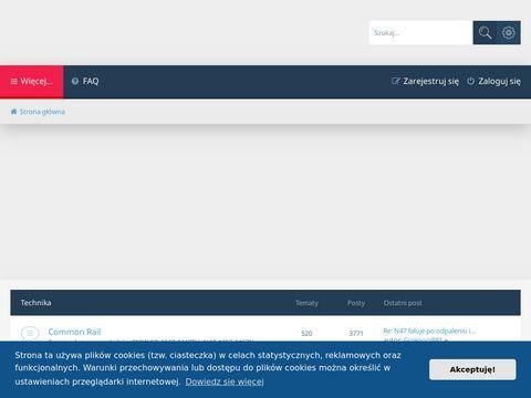 Portal społecznościowy użytkowników silników diesla BMW.