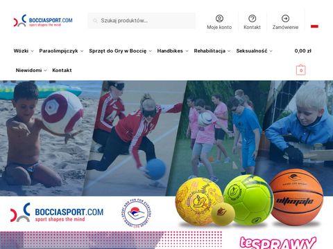Bocciasport.com - w贸zek inwalidzki pozna艅