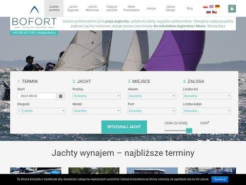 Bofort.pl Czarter jacht贸w Mazury - Najlepszy wyb贸r 鈥� Sprawdzone jachty