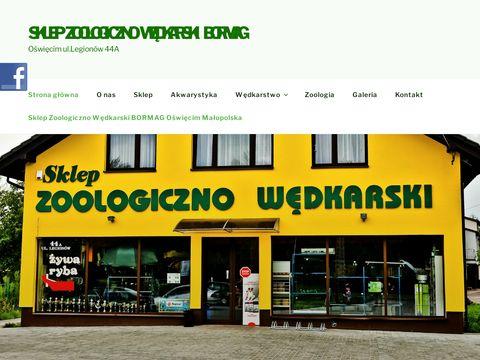 Sklep Zoologiczno Wędkarski BORMAG Oświęcim Małopolska - Sklep Zoologiczno Wędkarski BORMAG