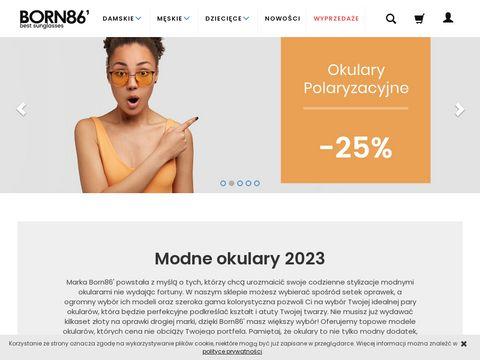 Okulary przeciwsłoneczne damskie - born86.pl