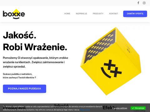 Pudełka z nadrukiem - boxxe.pl