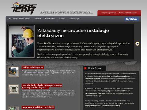 BreTerm - Systemy telewizji dozorowej Bydgoszcz