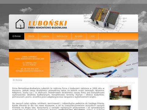 Firma remontowo budowlana Poznań