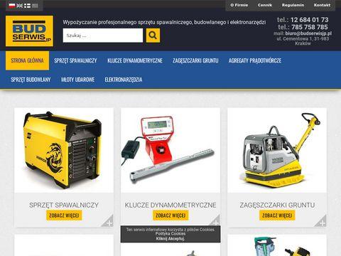 Wynajem, wypożyczalnia sprzętu spawalniczego, spawarek, zagęszczarek | budserwisjp.pl