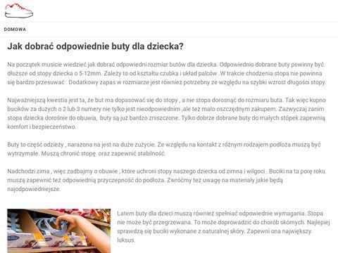 Botatex Obuwie Dziecięce - Buty Mrugała, Buty Bartek, Buty Befado
