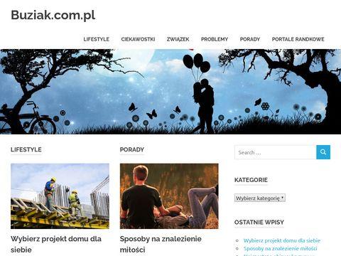 Buziak.com.pl - Wszystko o portalach randkowych