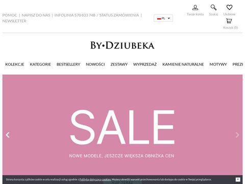 Biżuteria modowa - bydziubeka.pl