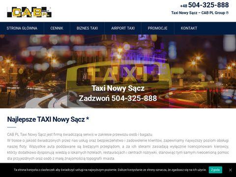 Taxi w Nowym SÄ…czu - cab-taxinowysacz.pl