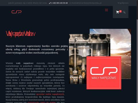 Wywa偶anie wa艂贸w nap臋dowych - cardansystempolska.pl
