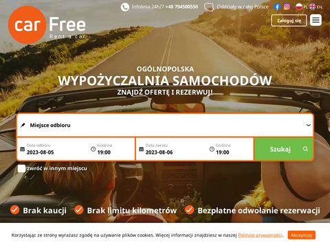 Carfree.pl - wypożyczalnia samochodów